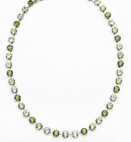 Necklace Verdosa with Swarovski Crystals
