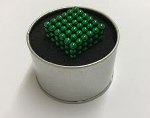 Neo 5mm Sphere Magnets - Green