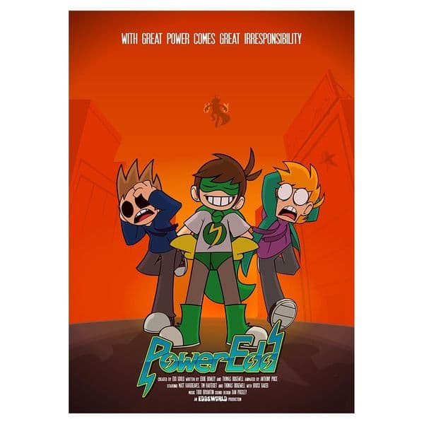 Eddsworld PowerEdd Poster