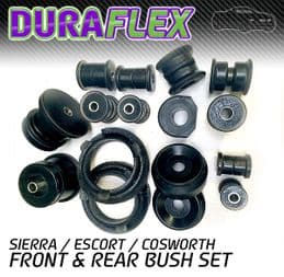 FORD SIERRA / ESCORT COSWORTH FRONT & REAR BUSH SET