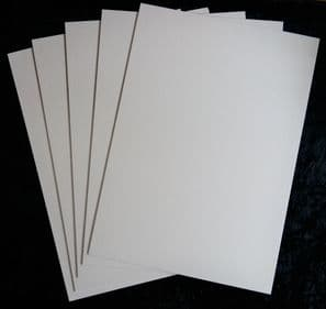 A3 1.65mm / 1650 micron Heritage Conservation Board (White) 5 Sheets