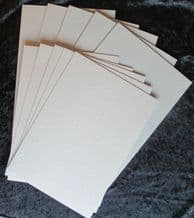 A4 Greyboard Mixed Pack 5 each 2mm/2000 mic and 1mm/1000 mic -model buildings