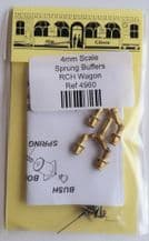 Alan Gibson 4mm Scale RCH Wagon Buffers Part no. 4960