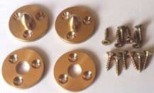 Easy Fit Brass Baseboard Alignment Dowels