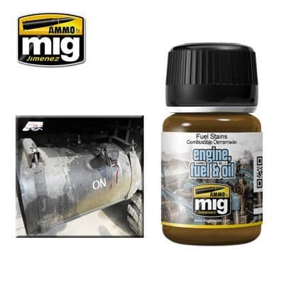 MIG 1409 Ammo Fuel Stains 35ml