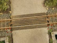 Model Scene 48503 Wooden Rail Crossing Scale HO 1:87