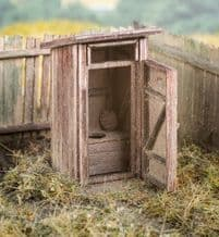 Model Scene 96501 Outhouse Kit Scale N 1/160