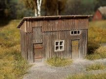 Model Scene 96506 Wooden Shed Kit Scale N 1/160