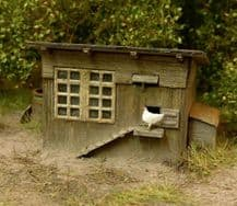 Model Scene 96518 Hen House Kit Scale N 1/160