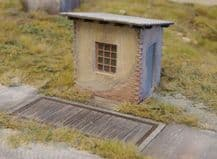 Model Scene 98504 Old Weight Station Kit Scale HO 1/87