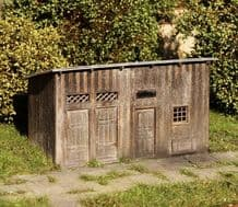 Model Scene 98508 Shed for Materials Kit Scale HO 1:87