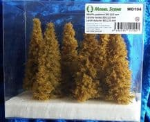 Model Scene MO104 Larch Trees Autumn 90-110mm Pack of 6