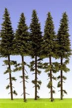 Model Scene SK200 Spruce with Trunk Trees 180-220mm Pack of 5