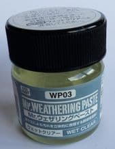 Mr Hobby WP03 Weathering Paste Wet Clear 40ml
