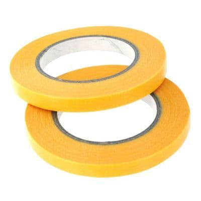 Precision Masking Tape 3mm x 18m Pack of 2 Rolls