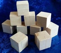 Wooden Blocks Pack of 10 Large